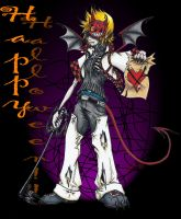Halloween Town Roxas by Night-S