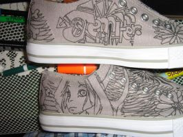 the other side of Jenn sneaker by brolicdesigns