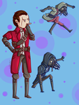 Daud and The Whalers by lady-yuna7