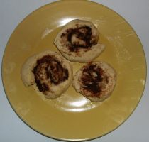 Quick and Easy Cinnamon Rolls by monocot