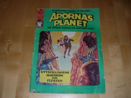 Planet of the apes comic no. 1 by rarsa