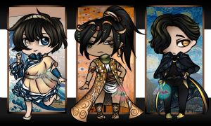 Painting Adopt Batch [OPEN 2/3] by Nina-Adopts
