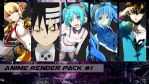 Anime Render Pack #1 by YoshiSouls