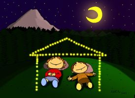 Fireflies- suheylunver by childrensillustrator