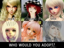 Who would you adopt?! by cats10
