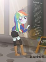 Rainbowdash - styllish girl2 by sumin6301