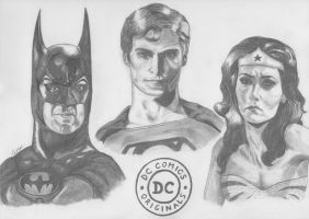 DC Comics Originals by BoyWonder024