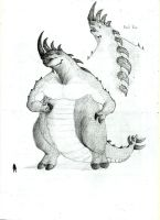 New  Monster to fight with godzilla (just concept) by cHolTOP