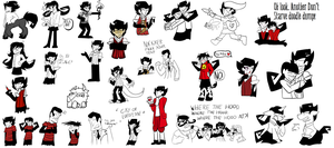 Don't starve: Another doodle dump! by ProfessorLucario9