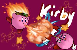 SPEED ART - Kirby [Nintendo] by Naishys