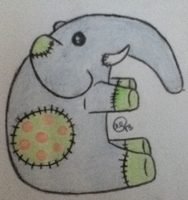 Elephant Plushie - Offer to Adopt! :CLOSED: by FishyAdoptable