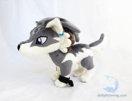 Wolf Link Plushie Ver. 2 by dollphinwing