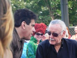 Lou Ferrigno and Stan Lee by aichan25