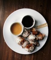 Banana-Coconut Beignets by sasQuat-ch
