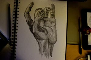 Hand Study 2 by Devoniia