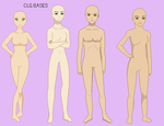 :184: Avatar :Standing Group Pixel Base: by CLGbases