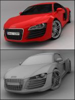 Audi R8 by Tom-3D