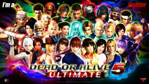 DEAD OR ALIVE 5 ULTIMATE ALL CHARACTERS WALLPAPER by Leifang12