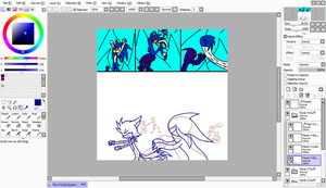 Working on The Crystal Queen page 17 by CrystalTheRenahog