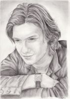 Ben Barnes-Drawing by xChasingtailsx