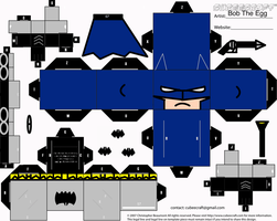 Jim Lee Batman Cubee by BobTheEgg