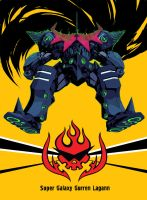 Super Galaxy Gurren Lagann by arsenixc