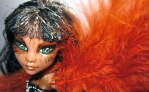 Phoenix Claw one of a kind monster high Face by midnightstrinkets