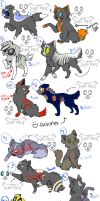 halloween adopt cats and dogs by NotActiveAnyMore
