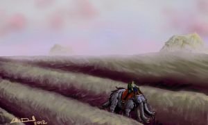 Speed Painting 8 by hydraa