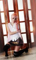 Serah - Stained Fate by sasorinodannaun