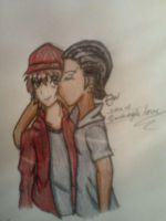 Kissing a Angel. Jo x D.A by TheblueQueen16