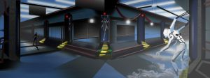 Dual helix-- Interior Facility by Shane-D-Solomon