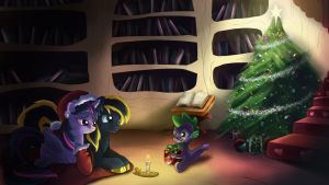 Commission: Merry Christmas! by Seyllah