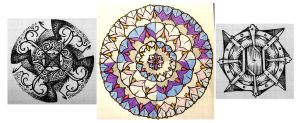 Quick Mandalas by meathive