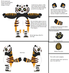 KFP - Adult Tao Reference Sheet WIP by Envytheskunk