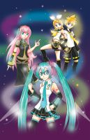 Vocaloid print by chibimonkies