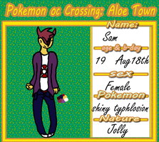 sam the typhlosion :UPDATED: by Sirsapling
