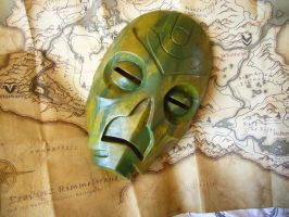 Otar the Mad - Dragon Priest Mask from Skyrim by Corroder666