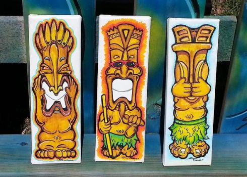 Sean Farmer - Tiki 3 evils by SPLDRAGER