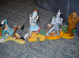 Wizard of Oz Figures by TheWizardofOzzy