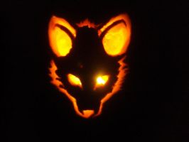 Jack o' Lantern: Fox 01 by PoisonedRose12
