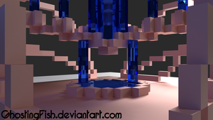 Blocky render 1 by GhostingFish