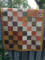 Awesome little quilt by BarbaraTeebrook