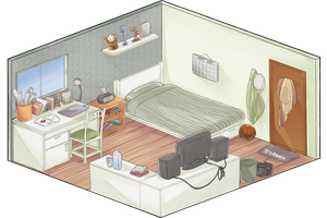 DH - Bedroom Event by ellenic