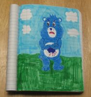 Care Bears Welcome to Care-a-Lot: Grumpy Bear by Barricade9-1-1