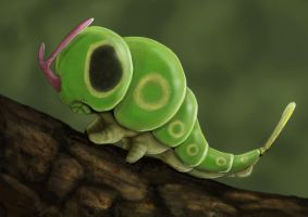 Caterpie by JoshuaDunlop