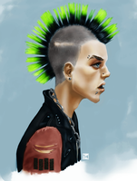 Punk by chromageist