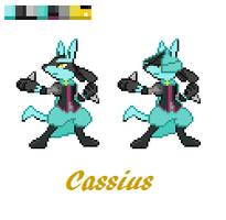 Cassius by TicklePixel