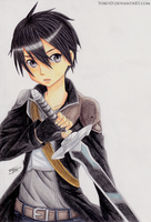 Kirito - SAO by TobeyD