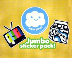jumbo sticker pack by ilovegravy